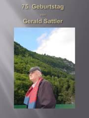 75. Geb. Tag Gerald Sattler